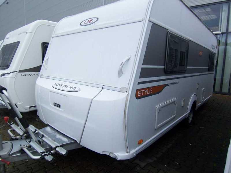LMC Style 450 E Fahrradträger caravana de Alemanha usado à venda no