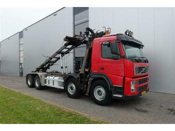 Volvo FM12.420 8X4 MANUAL HUB-REDUCTRION FULL STEEL LO  - camião chassi
