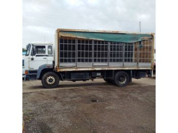 Camião toldo DAF 1900 left hand drive Turbo Intercooler 17.5 ton on springs