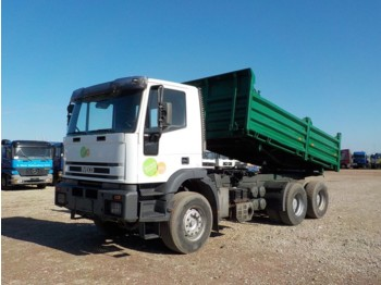 Iveco Eurotrakker 380 E 42 (MANUAL PUMP / BIG AXLE / STEEL SUSP) - caminhão basculante