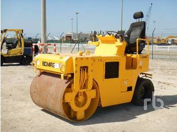 Rolo BOMAG BW120AD 3 Wheel Combination